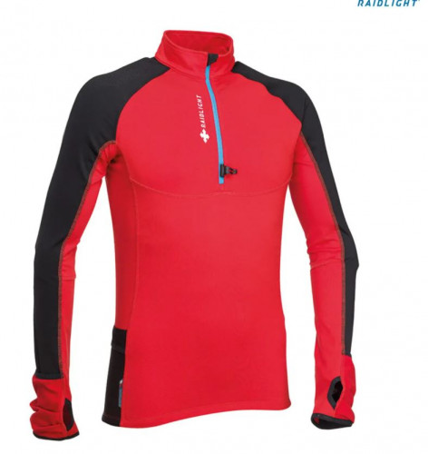 NWT- Men's WinterTrail Long Sleeve Running Top Size Large- Red