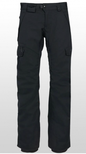 686 Smart Cargo Pants - Black, Size Small Short (outer pants only)