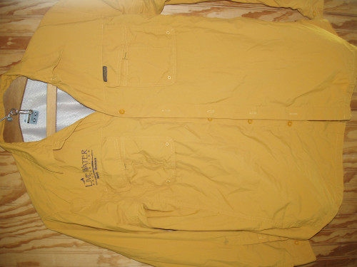 Columbia Titanium  XL TG nylon Fishing Shirt