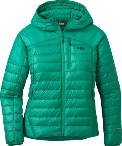 NEW - Outdoor Research - Women's Helium Down Hoodie Jacket - XS