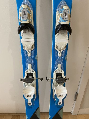 Rossignol Temptation 84 Skis + Look Xpress W 11 Bindings 162 cm
