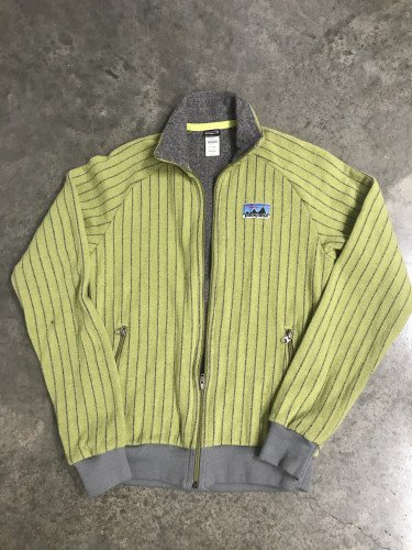 Patagonia full zip vintage sweater