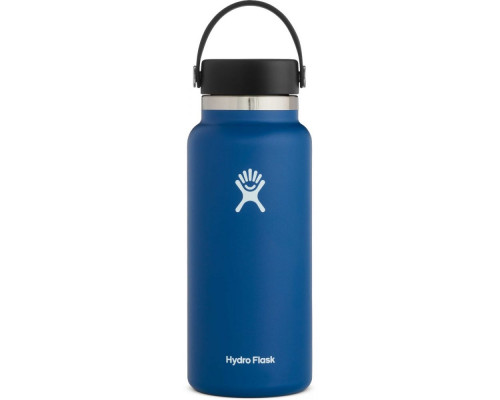HYDRO FLASK 32OZ WIDE MOUTH WATER BOTTLE- Cobalt