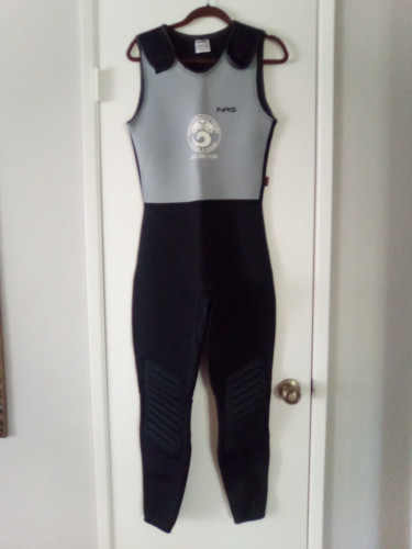 NRS Farmer Bill 4mm Wetsuit, Size Large, New
