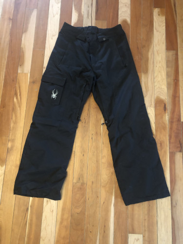 Men's Spyder Ski Pants (M)