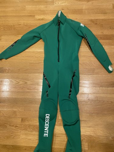 Alpine Ski Race Suit (Green)