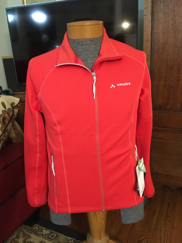 Women's Vaude Gotulia Jacket Flame Red 42/Large New w/ Tags