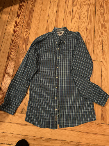 Men's Long Sleeve Button Down Wrinkle Free Classic Fit