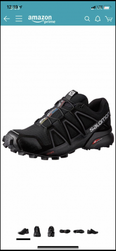 Salomon Speedcross 4W Ortholite