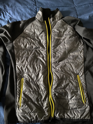 Down Stretch Fleece Hybrid Jacket