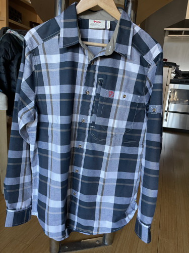 Fjallraven fjallglim button down