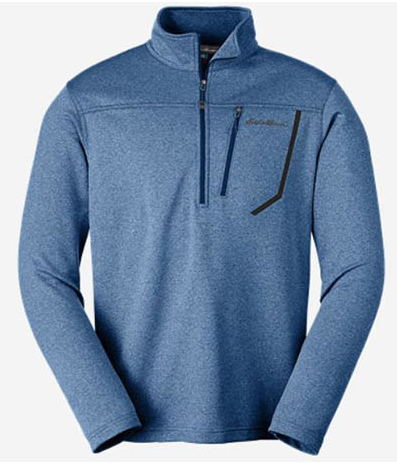 Eddie Bauer - First Ascent High Route 1/4 Zip - Men's Small