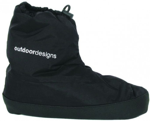 Outdoor Designs Down Booties - Medium (260217DA)