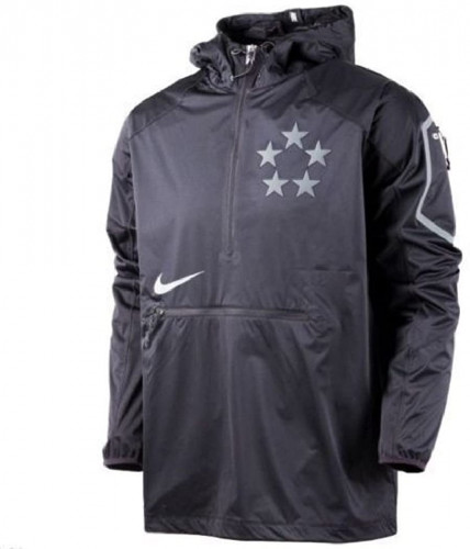 Nike - Field General Fly Rush Half-Zip Pullover Jacket - Large