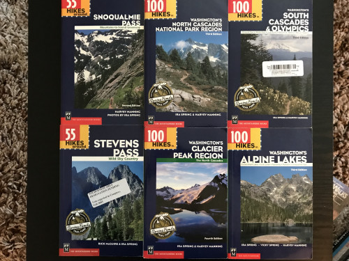 Washington State: Cascades and Olympics Hiking Guidebooks