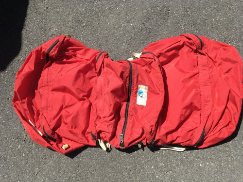 Saddlebags for bike, very good condition
