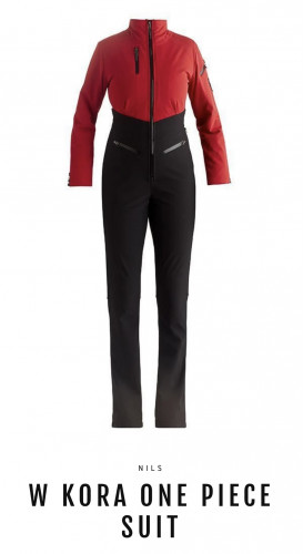 Nils Kora One Piece Suit Insulated Red