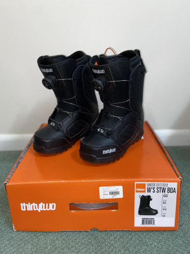 Brand new in box women's snowboard  boots.