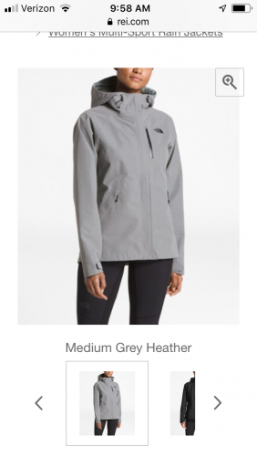 The North Face Dryzzle Rain Shell