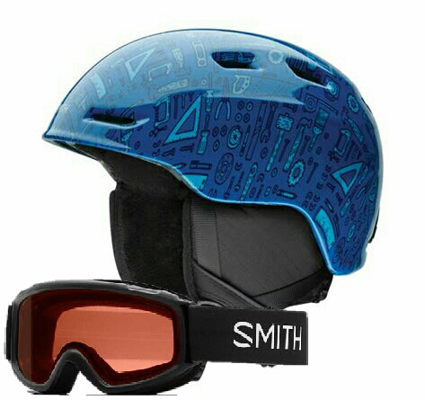 Helmet Youth Fit, Zoom Jr. plus Matching Goggle Youth Fit Smith