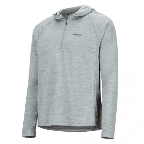 Marmot Men's Sunrift Hoody - Size XXL, Gray Storm