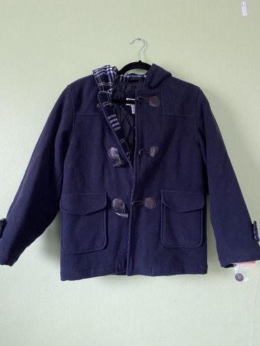 Woolen Navy Pea Coat