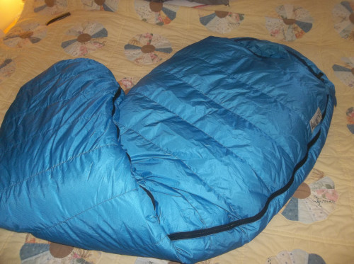 RARE Marmot Pocket Gopher Gore-tex Goose Down Sleeping Bag READ
