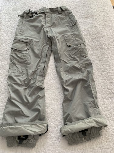 686 Cargo Snowboard Pants with Detachable Fleece Liner Medium