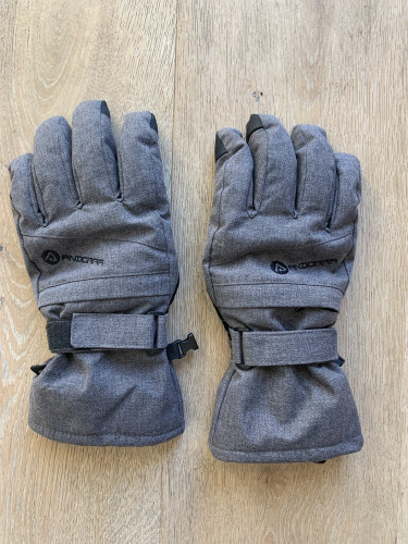 Women's Andorra Ski Gloves, Grey
