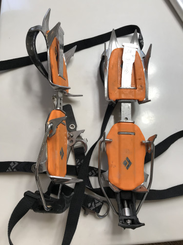 Black Diamond 10-point Contact Strap Crampons