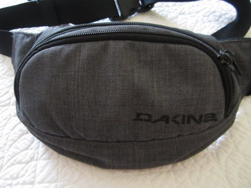 "DAKINE Gray Waist Fanny Hip Pack 10"" Length x 5.5"" Height"