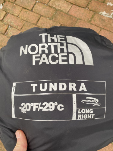 -20 The North Face Sleeping Bag