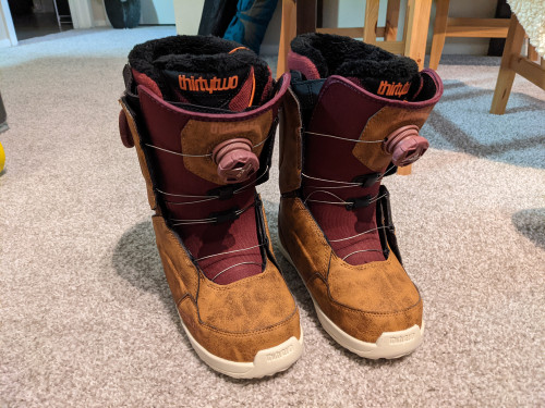 Thirtytwo W's Lashed Double BOA Snowboard Boots