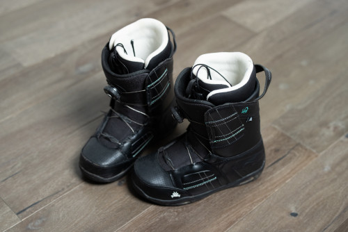 K2 Veil Boa System Black Women's Snowboard Boots Size 9