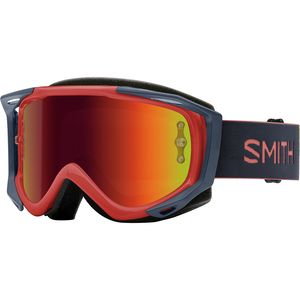 Fuel V.2 Goggle Red Rock/Red Mirror, One Size - Excellent
