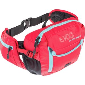 Hip Pack Race 3L with 1.5L Bladder Red/Neon Blue, One Size - Like New