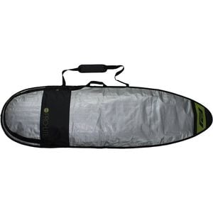 Resession Day Surfboard Bag - Short Black/Silver, 6ft 10in - Good