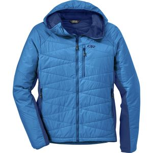 Cathode Insulated Hooded Jacket - Men's Glacier/Baltic, XL - Good