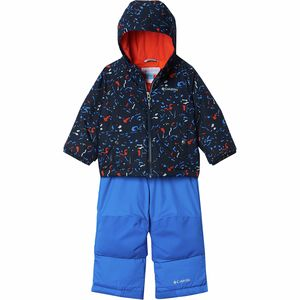 Frosty Slope Set - Toddler Boys' Collegiate Navy Splatter, 4T - Excellent