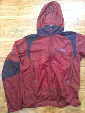 MontBell DYNAMO WIND PARKA MEN'S Medium
