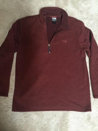 NorthFace 1/4 zip