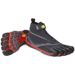 Bikila Evo WP Running Shoe - Men's Black/Grey/Red,