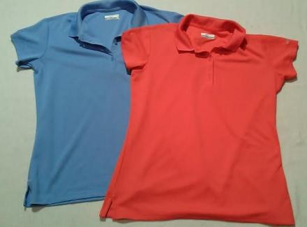 Lot: 2 Columbia PFG Supercast Polo's (NWOT)