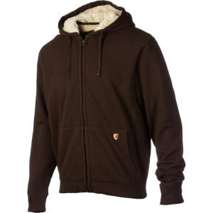Tacoma Full-Zip Hoodie - Men's Java, L - Excellent