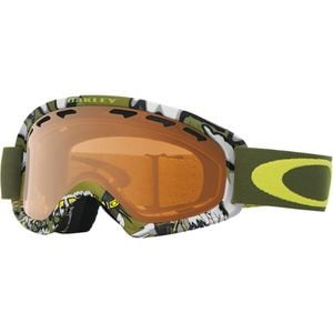 02 XS Goggle Shady Trees Army Green/Persimmon, One Size - Excellent