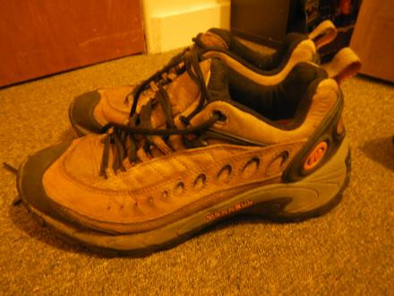 Merrell Womens Pulse Smoke Size 8 Hiking Shoes