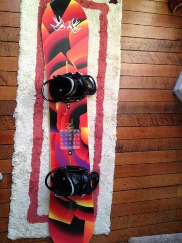 Burton Feelgood Flying V Women's snowboard