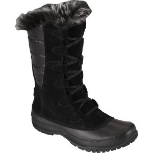 Nuptse Purna Boot - Women's Shiny Tnf Black/Tnf Black, 7.5 - Good
