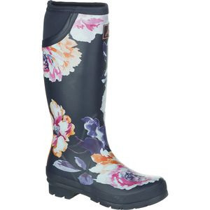 Neola Welly Boot - Women's Navy Rose, US 9.0/UK 7.0 - Good