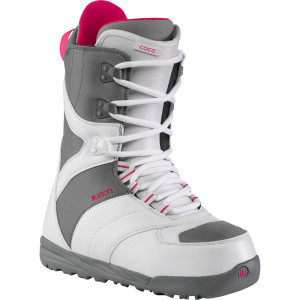 Coco Snowboard Boot - Women's White/Gray, 10.0 - E